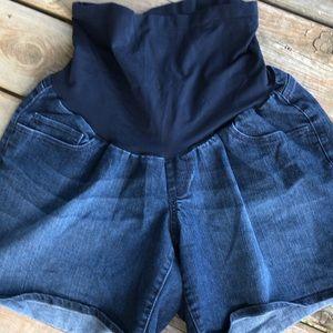 Indigo Blue Maternity shorts size 1X